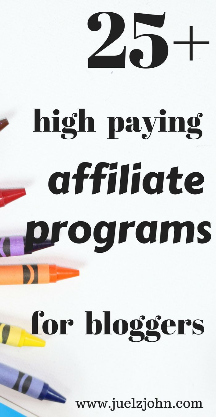 Are you looking for affiliate programs to help you make money blogging or online?I have compiled a list of 25+ most popular and high paying affiliate programs for you.#affiliatemarketing#affiliateprograms#affiliatemarketingtips#