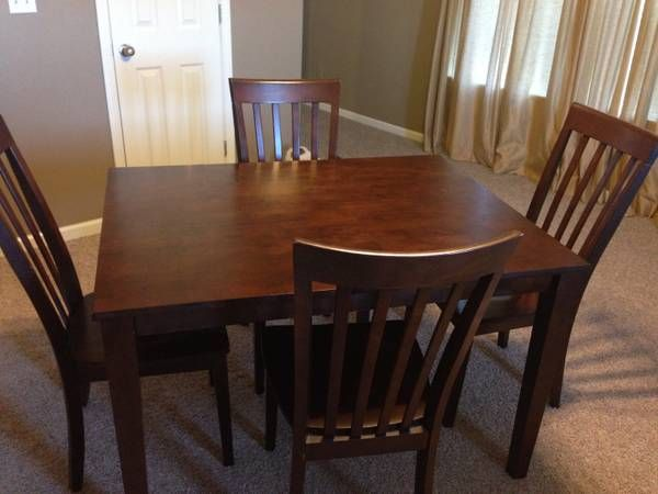 dining table 4 chairs craigslist collections