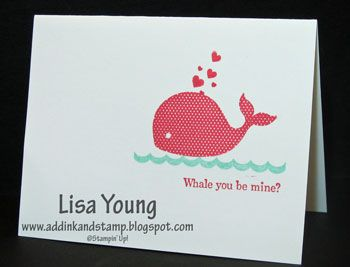 Oh Whale!, One Layer Valentine