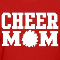 Perfect gift for mom! Or a way for mom to cheer you on from the stands!