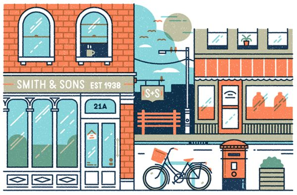 Part of our illustration in the latest Monocle for an article on retail and…