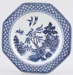 Meakin J and G Willow Plate c1970s