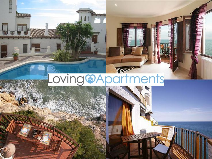 Treat yourself to the ultimate luxury holiday in Sitges!  Wake up to the sound of waves in this gorgeous apartment located right on the water's edge with a pool of its own too. http://lovingapartments.com/apt?accom_id=6862_date=09/10/13=3=2