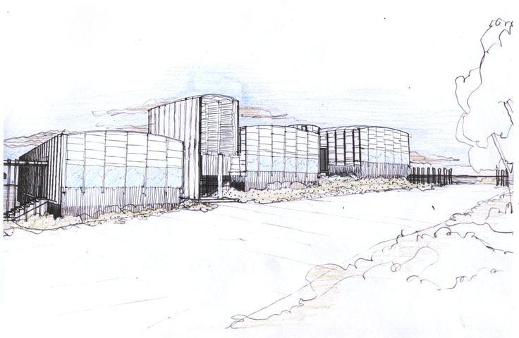 Estación Costera de Investigaciones Marinas (ECIM) ; Modulo Docente de Pregrado, Facultad de Ciencias Biológicas, Pontificia Universidad Católica de Chile / Martin Hurtado Arquitectos