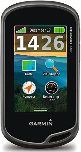 Garmin Oregon 650 Outdoor GPS unit with large 3-inch sunlight-readable touchscreen display with dual orientation, 8MP autofocus camera with LED flash/torch and Geotagging, 3-axis compass and worldwide basemap with shaded relief. Features high-sensitivity GPS and GLONASS satellite tracking, and...