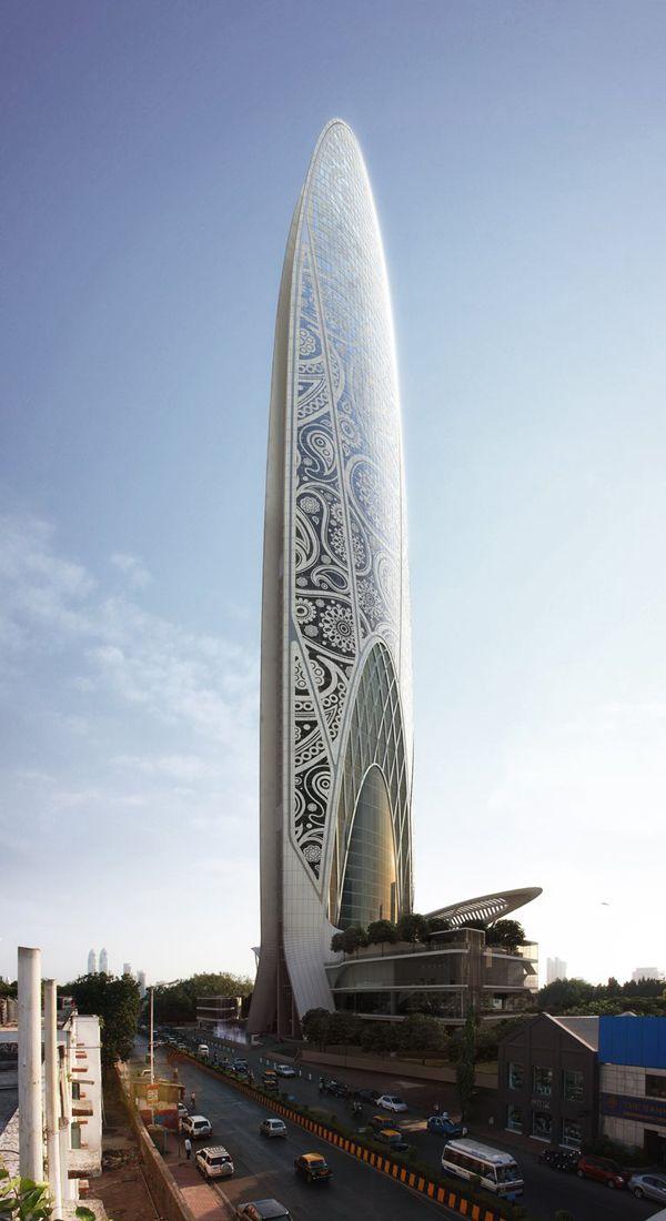 Namaste Tower, Mumbai, India, WS Atkins, Atkins, Dubai, energy efficiency, fritted glazing, W Hotel, sustainable architecture, high-rise, skyscraper design