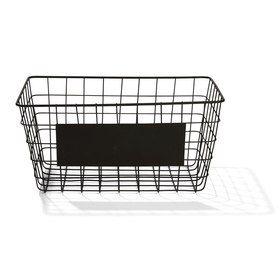 Wire Basket with Blackboard