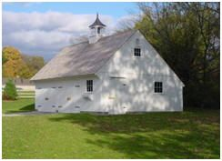 New England style, post & beam carriage house and garage building kits from CountryCarpenters.com