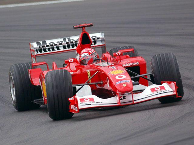 Michael Schumacher WC 2002, Ferrari