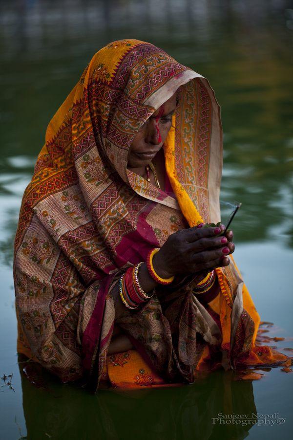 "500px / Photo ""A hindu devotee performing ritual "" by Sanjeev Nepali"