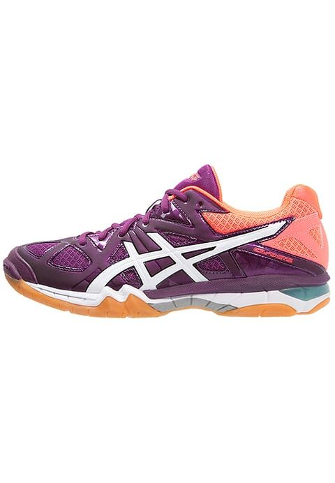 ASICS GEL-TACTIC - Scarpe da pallavolo - phlox/white/flash coral - Zalando.it