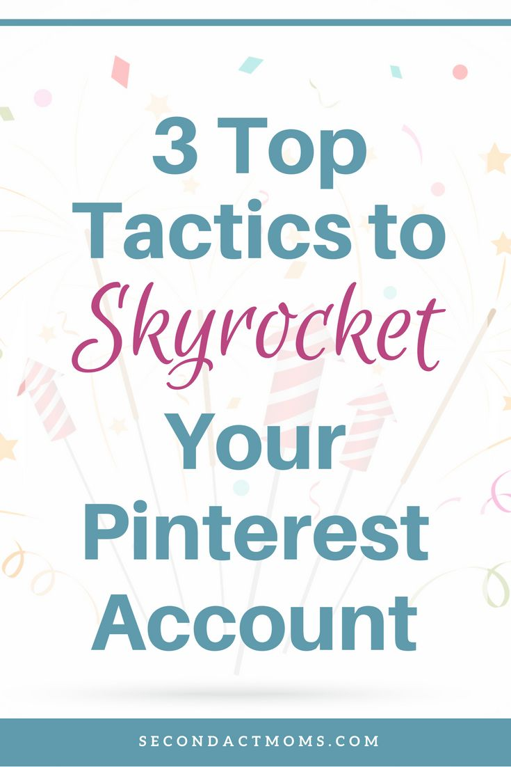 I share my 3 top tactics for increasing monthly views, optins, and website views using Pinterest.   pinterest | mompreneur | pinterest business | small business |  #pinterest #mompreneur
