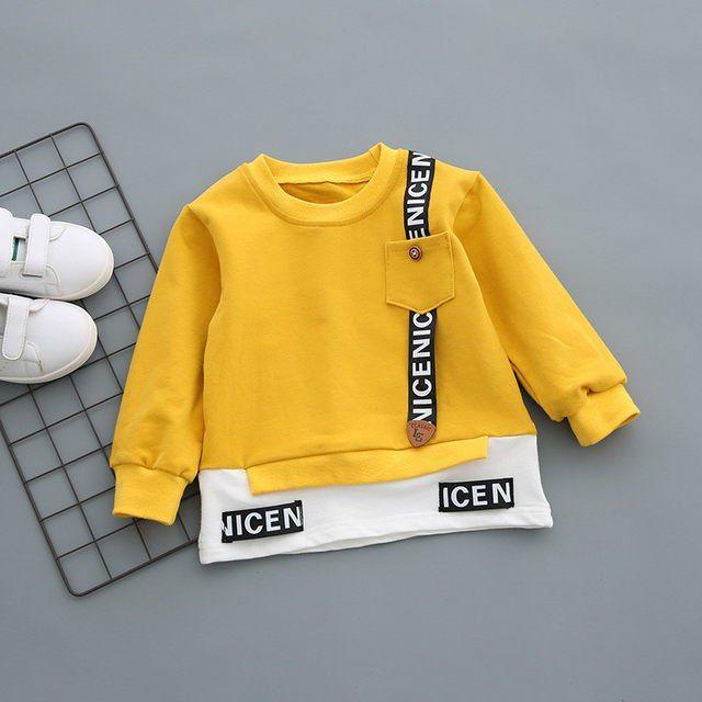 2018 Bebek Boys Giyim Seti Çocuk Giyim Setleri Uzun Kollu T-Shirt + Pantolon Sonbahar Bahar Çocuk Spor Takım Elbise Erkek giysi