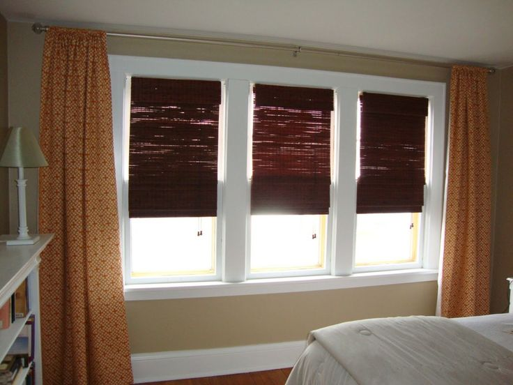Curtains For Windows With Blinds for small room