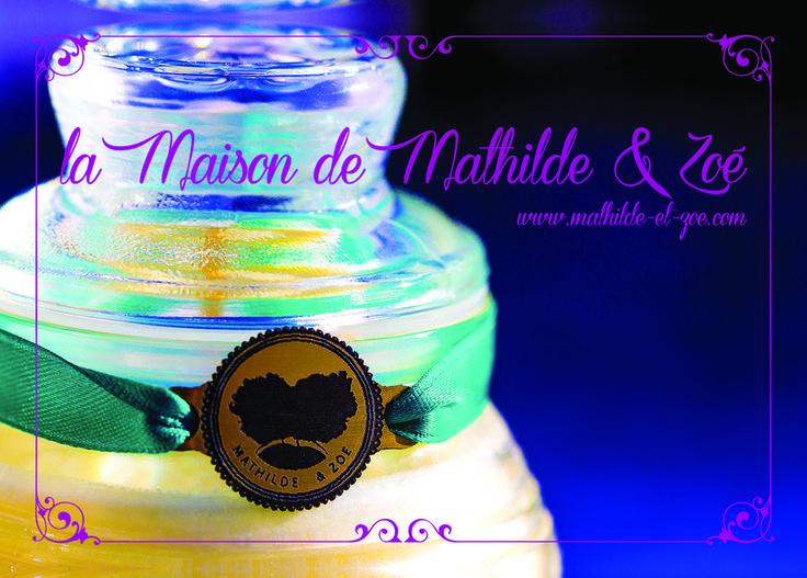 Les bougies écolo et abordable de Mathilde & Zoé aux parfums sophistiqués de Grasse Mathilde & Zoé http://salon-developpement-durable.com/