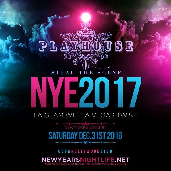 Playhouse Nightclub New Years (2017 Playhouse NYE) on December 31st 2016 (Saturday) 9pm at Playhouse Hollywood, 6506 Hollywood Blvd, Los Angeles, CA 90028.