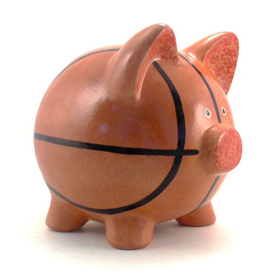 33 best hand painted piggy banks images on pinterest piggy banks hand painted and - Ceramic piggy banks for boys ...