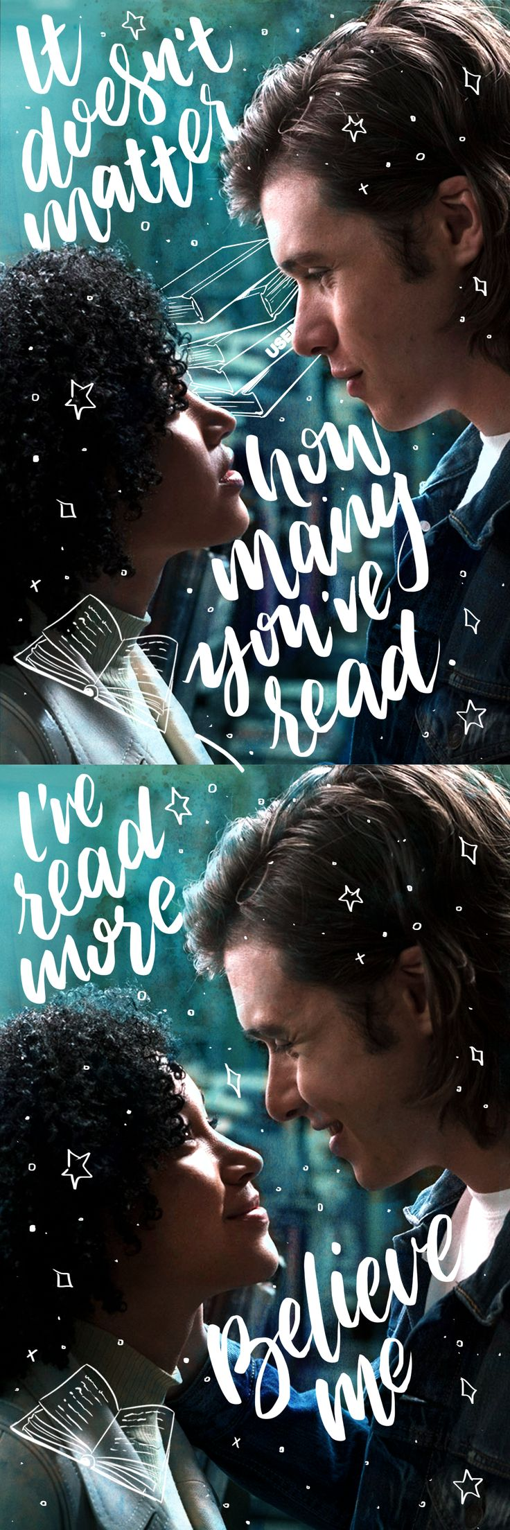 When it comes to reading, it's hard to compete with Maddy.  | Everything, Everything Movie | In theaters now