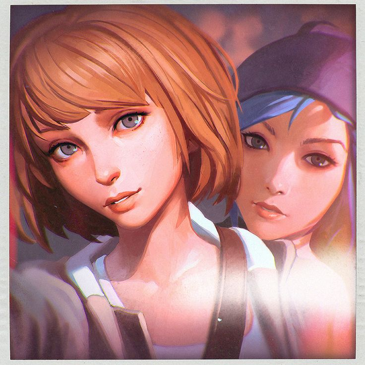 Max and Chloe Selfie by KR0NPR1NZ.deviantart.com on @DeviantArt