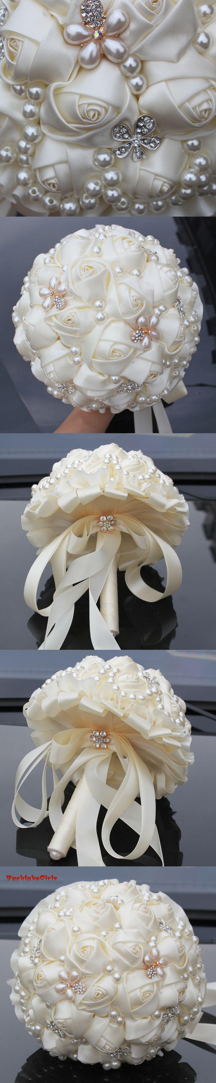 New Arrival Best Price Color Bridal Bouquet Artificial Wedding Bouquets Brooch Bouquet Wedding ramos de novia artificial