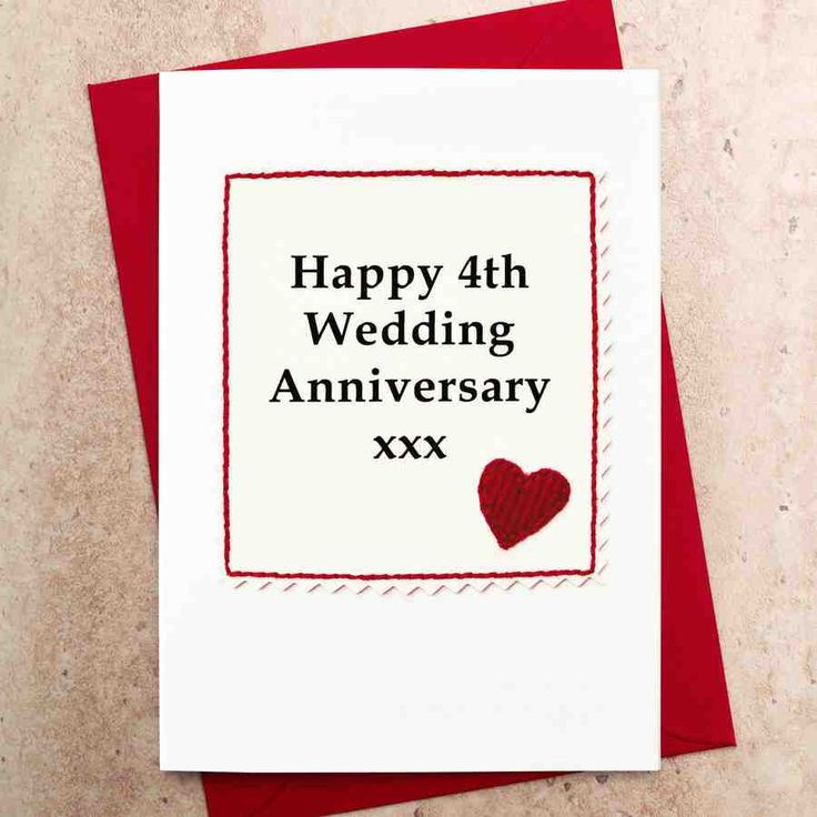 17 best ideas about 4th Wedding Anniversary Gift on Pinterest 4th ...