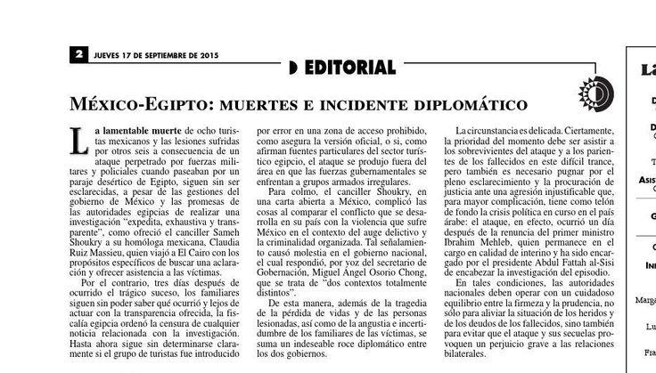 #ClippedOnIssuu from La Jornada, 09/17/2015