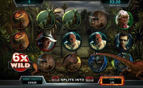 Jurassic Park slot  is a five reel and three hundred coin slot...