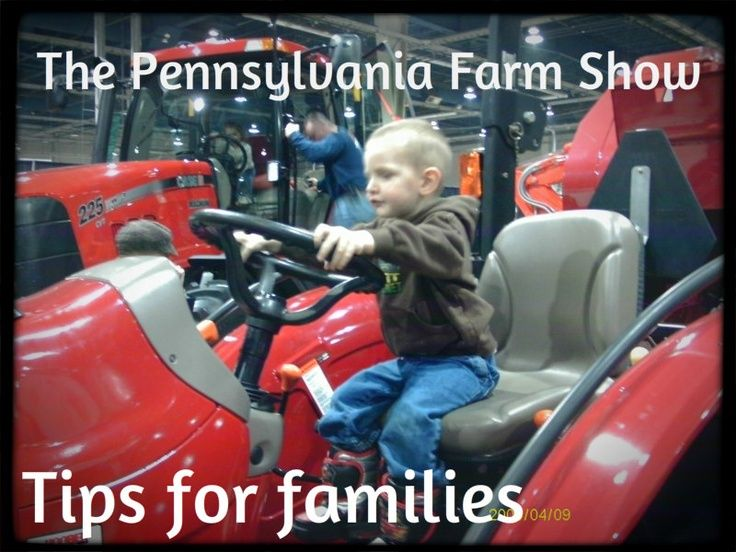 tips for visiting PA Farm Show