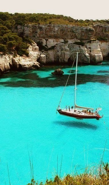 Turquoise Sea - Sardinia, Italy - Explore the World with Travel Nerd Nici, one Country at a Time. http://TravelNerdNici.com #taormina #sicilia #sicily