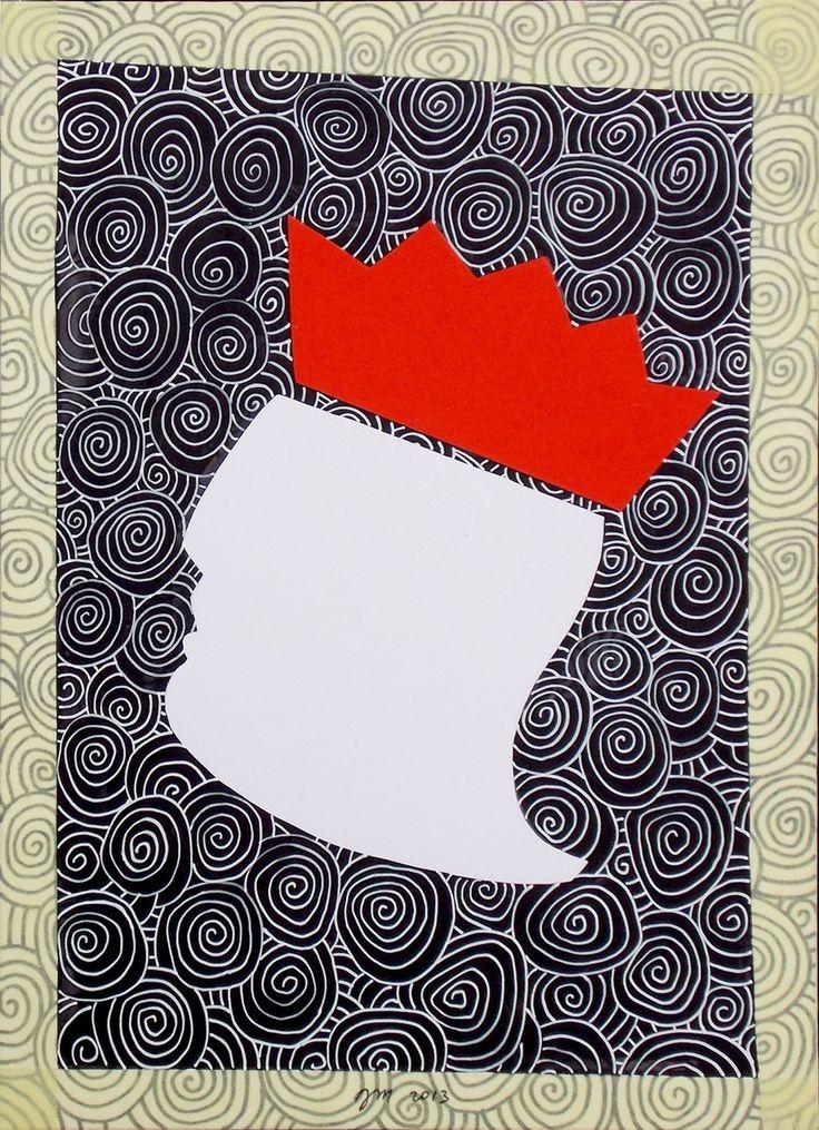 """andrea mattiello """"...non ti curar di loro"""" acrilico e collage su cartoncino cm 25x35; 2013 #arte #artecontemporanea #art #contemporaryart #artistaemergente #emergingartist #artforsale #livinart"""