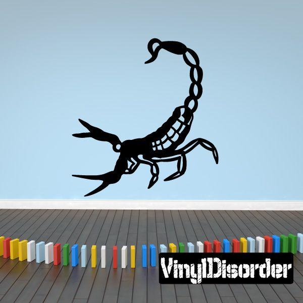 Scorpion Southwestern Wall Decal - Vinyl Decal - Car Decal - 050