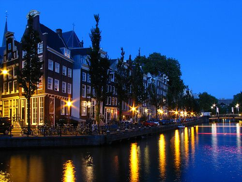 Amsterdam's canal