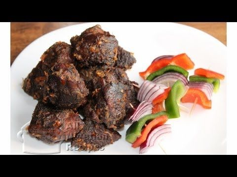 How to make Asun - Spicy Goat Meat - Nigerian Food - YouTube