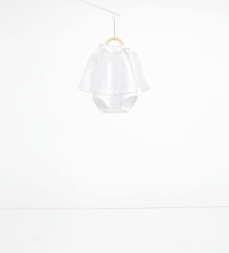 Imagen 1 de Body puntilla de Zara