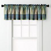 United Curtain Co. Plaid Valance - 54'' x 18''