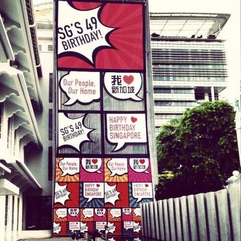 Happy 49th Birthday Singapore! | Webbitizers