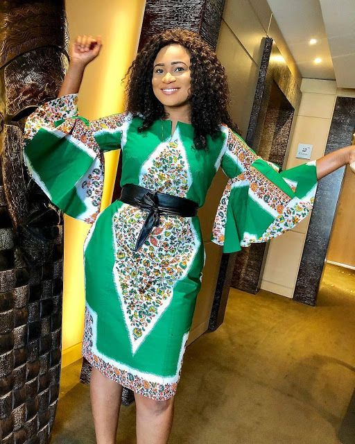 Ankara Styles 127 Show Down: 2019 Short African Dresses : Mind Blowing Fashion Styles