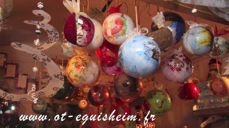 """Marché de Noël d'Eguisheim en Alsace"" ~ I hope that you enjoy this Christmas video that was filmed in Eguisheim, Alsace, France."