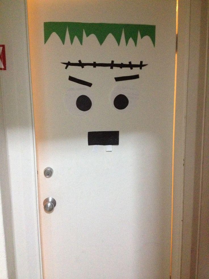Door Decorations For Halloween Pinterest Crafts