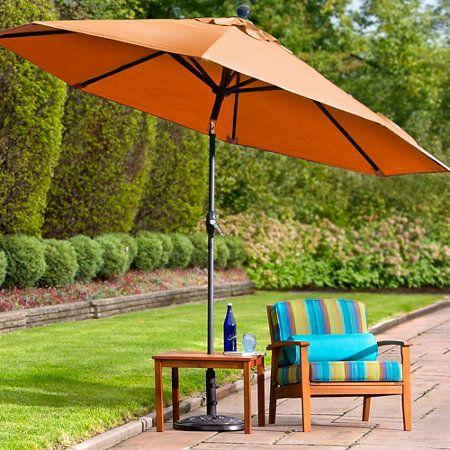 11' Outdoor Sunbrella® Umbrella & Replacement Canopy
