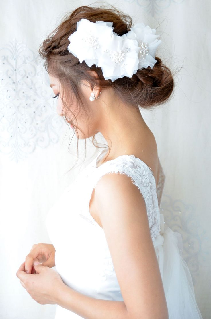 ヘッドドレス(髪飾り)【ボンネ】 ステラ