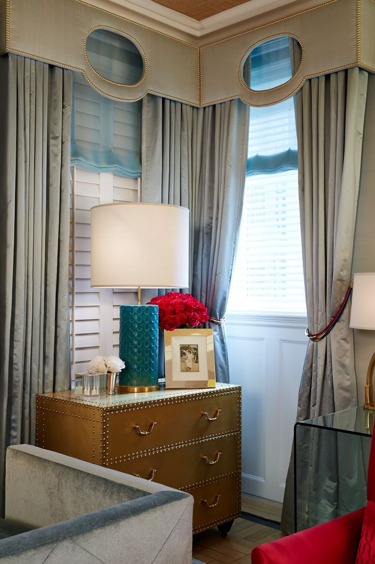 Uncategorized/birch tree fabric window panels/all products home decor window treatments curtains -  Derby Deconstructed Interior By Patrick J Hamilton For Holiday House Nyc 2014 Custom Window Treatmentscustom