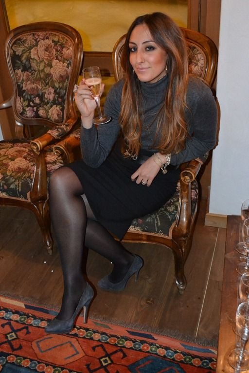 Fabulous Dressed Blogger Woman From Man Corner Elisa From