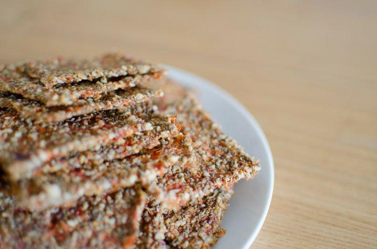 Ces Petites Choses Qui Changent La Vie: Crackers de légumes