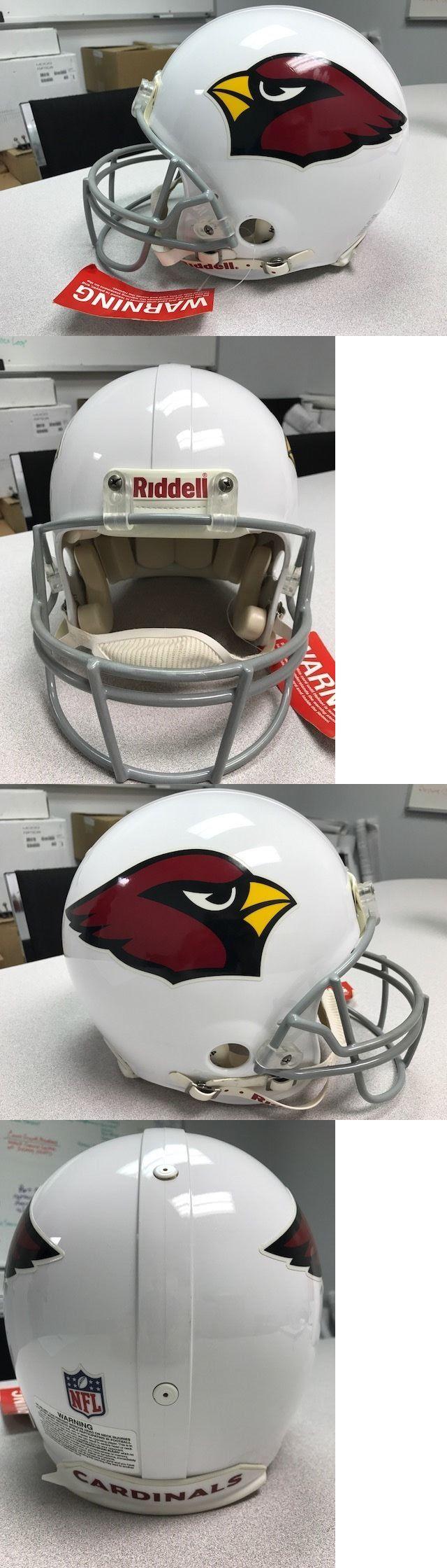 Helmets and Hats 21222: Arizona Cardinals Riddell Vsr4 Proline Football Helmet Pat Tillman -> BUY IT NOW ONLY: $100 on eBay!