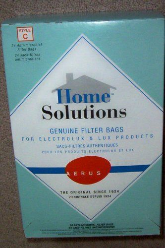 Home Solutions Genuine Filter Bags for Electrolux & Lux Products -- Style C -- Anti-microbial Filter Bags,24 Filter Bags Home Solutions Genuine Filter Bags for Electrolux & Lux Products -- Style C -- Anti-microbial Filter Bags https://homeandgarden.boutiquecloset.com/product/home-solutions-genuine-filter-bags-for-electrolux-lux-products-style-c-anti-microbial-filter-bags24-filter-bags/