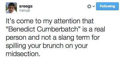 Benedict Cumberbatch | 17 New Slang Terms You Should Start Using Immediately