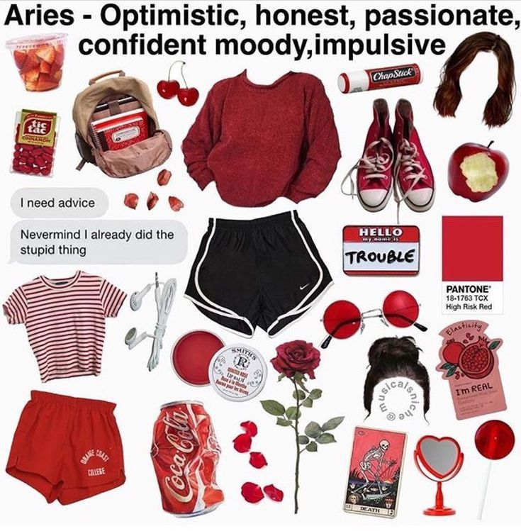 Aries Zodiac Sign In 2020 Mood Clothes Vintage Outfits Aesthetic Clothes