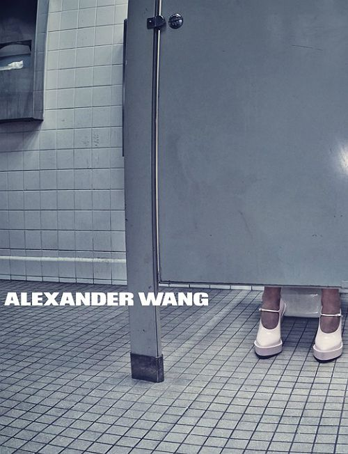 Alexander Wang Spring/Summer 2014 Advertising Campaign, ph. by Steven Klein... Love those shoes!