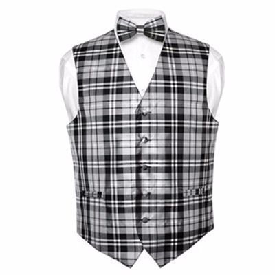 Get Black and White Checked Waistcoat with wholesale flannel coat manufacturer, Alanic Global.
